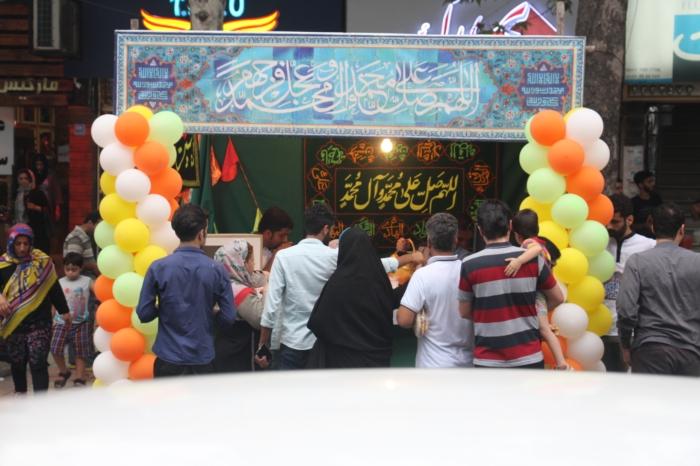 جشن میلاد امام رضا سال ۹۷ آمل