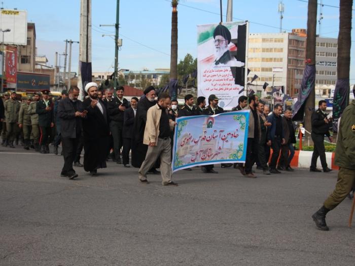 مراسم شهادت امام رضا علیه السلام شهرستان آمل