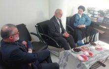 دیدار امام جمعه محترم شهر آمل به مناسب ایام دهه کرامت