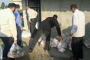اقدام به توزیع کالا منطقه دشت سر در دهه کرامت