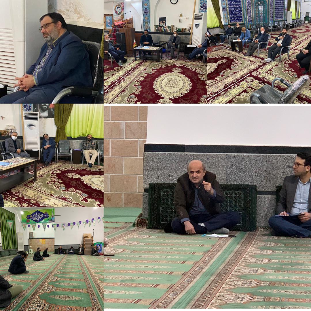 بازدید و تبادل نظر جمعی از اعضا کانون مرکزی خادمیارن رضوی آمل