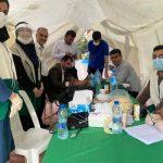 دهه کرامت با بر پایی ایستگاه سلامت در میدان ۱۷ شهریور