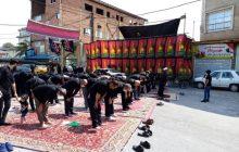 نماز ظهر عاشورا در میدان شهید خسرو فلاح دریای 13 آمل