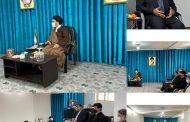 دیدار با امام جمعه محترم شهر دابودشت شهرستان آمل در روز متعلق به امام مهربانی